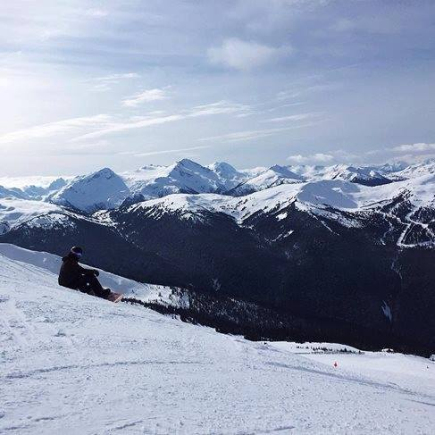 Whistler Black Mountain Snowboarding