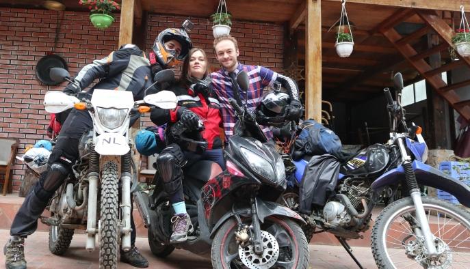 Friends, Motorcycles, Vietnam, Fun