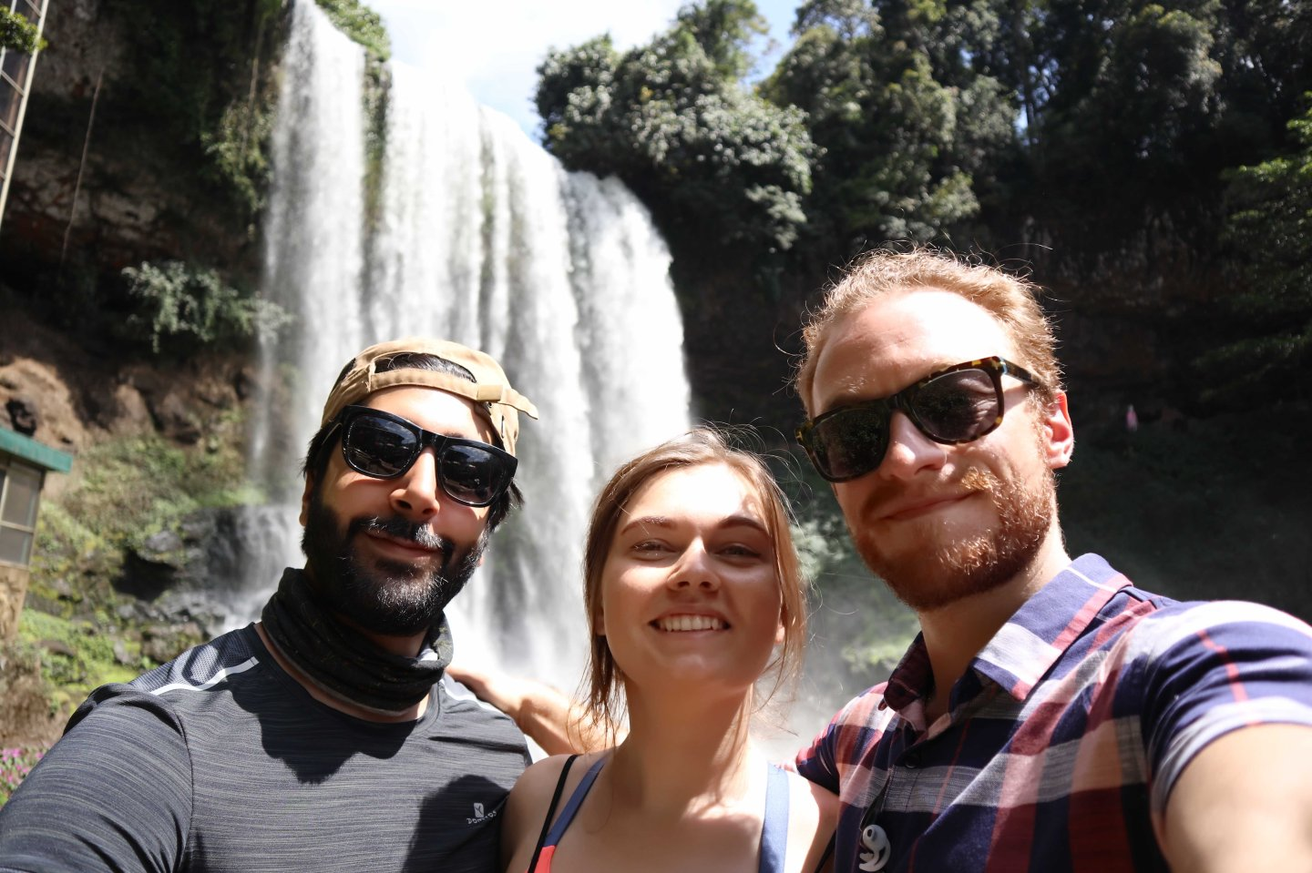 Friends, Travel, Vietnam, Waterfall, Adventure, Motorcyle
