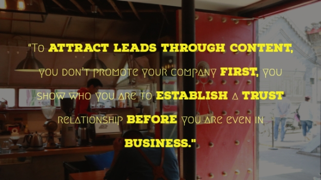 Content management, Generate Leads, Content marketing, learn about content, good content, generate sales
